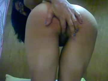 Asian Granny Posing Completely Naked On Cam