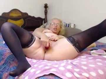 Moaning GILF Toying Herself