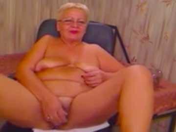 Chubby Grandma Live Show